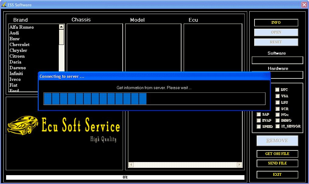 Ecu Soft Service
